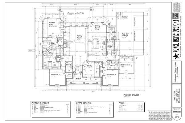 105 Noble Log Grove Floor plan